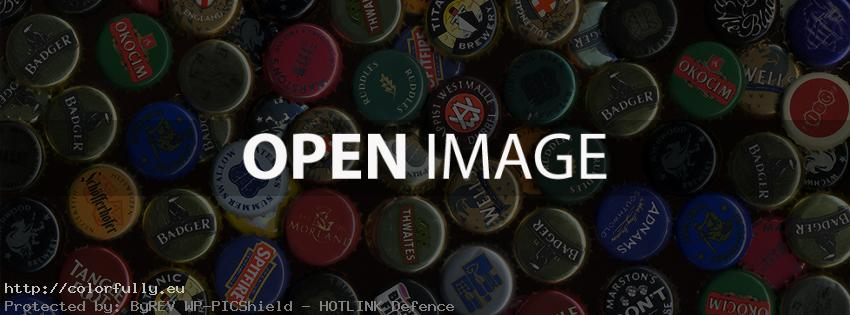 Beer caps collection – Facebook cover