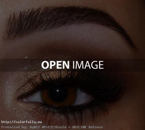 brown eye-cool-beautiful-bronze-make up-eyebrows