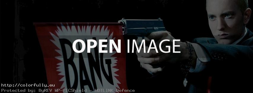 Eminem – bang – Facebook cover