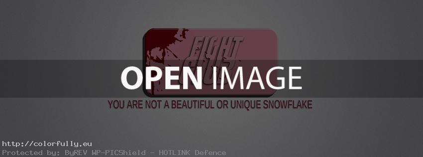 Fight Club – You are not a beautiful and unique snowflake – Facebook cover