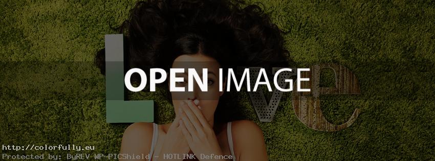 love-girl-letters-lay-on-grass-facebook-cover