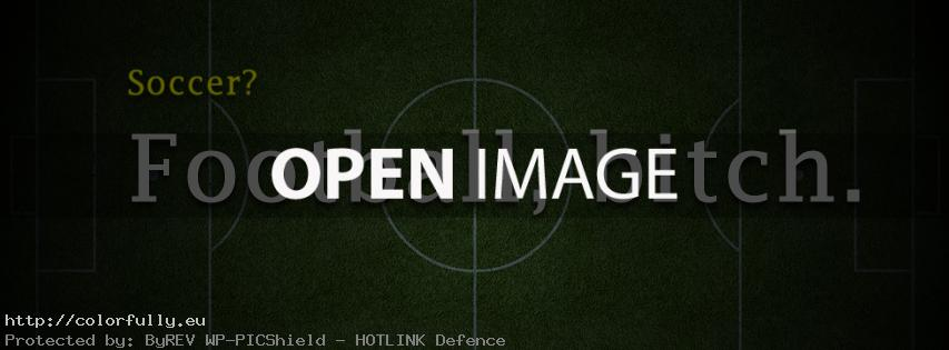 Its not Soccer, its Football – Facebook cover