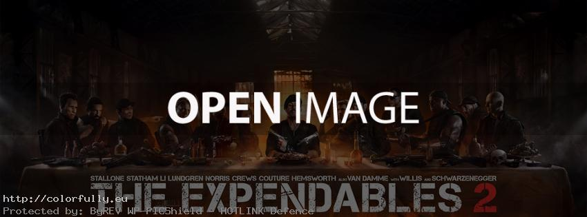 The Expendables the last supper – Facebook cover