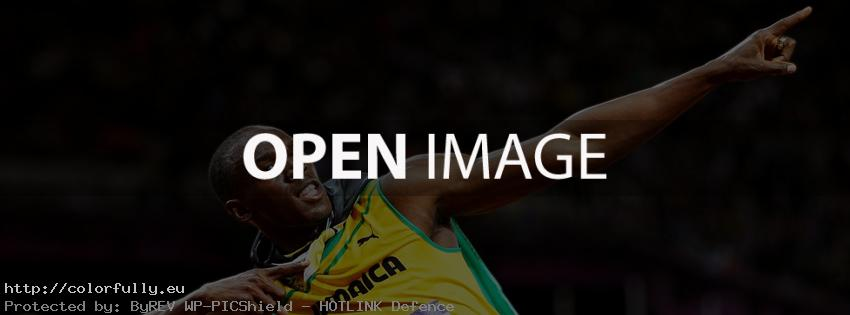 Usain Bolt Jamaica - Facebook cover
