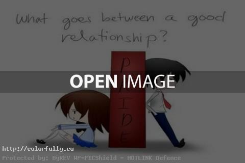 What goes between a good relationship – Pride