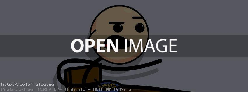 Cereal Guy – Funny Facebook cover