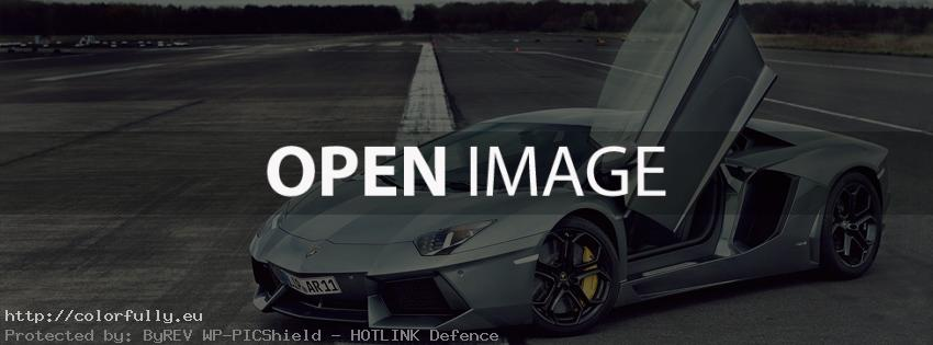 Awesome Lamborgini - Facebook cover