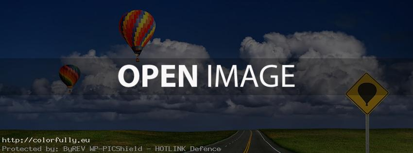 Balloon trip – Facebook cover