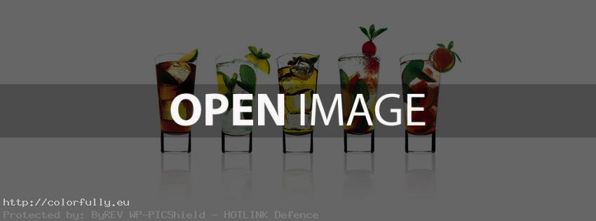 Fresh cocktail drinks – Facebook cover