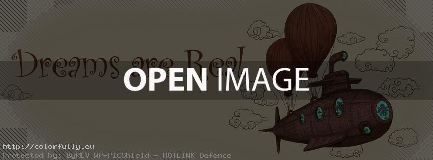 Dreams are real – Facebook cover
