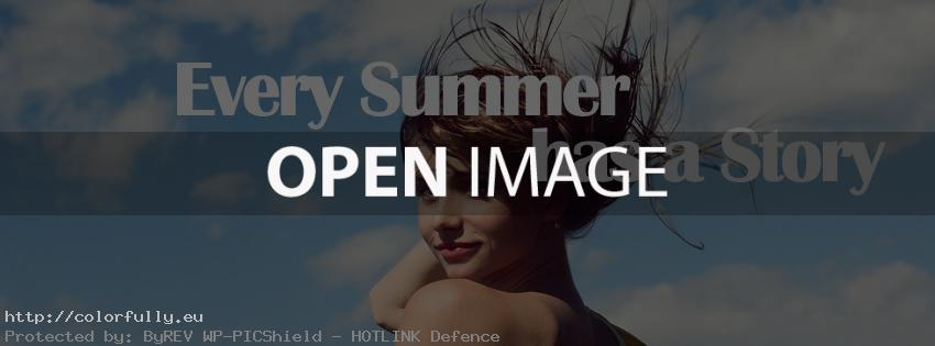Every summer has a story – Facebook cover