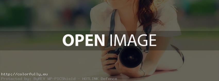 Girl photography - Facebook cover