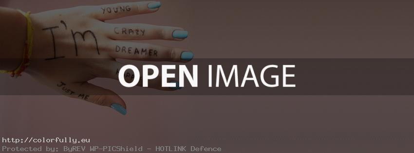 I am just me – Facebook cover