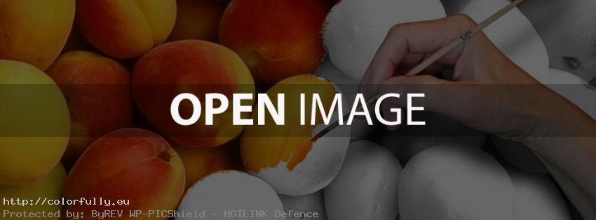 Colored Peaches – Facebook cover