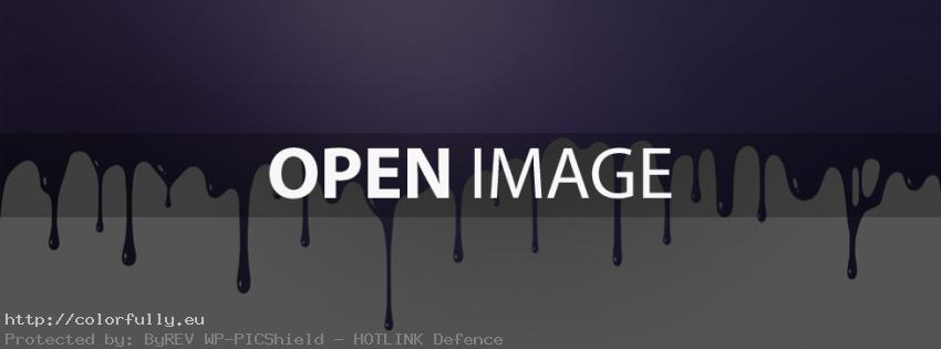 Purple paint – abstract – Facebook cover