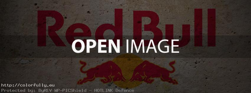 Red Bull gives you wings - Facebook cover