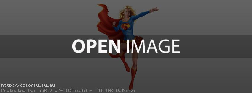 Super woman – Facebook cover