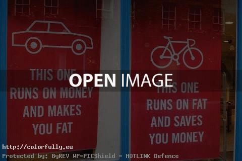 This one runs on money and makes you fat. This one runs on fat and saves you money!