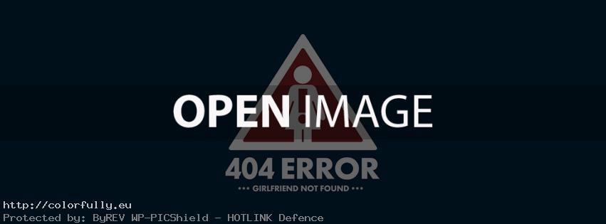 404 error – Girlfriend not found – Facebook cover