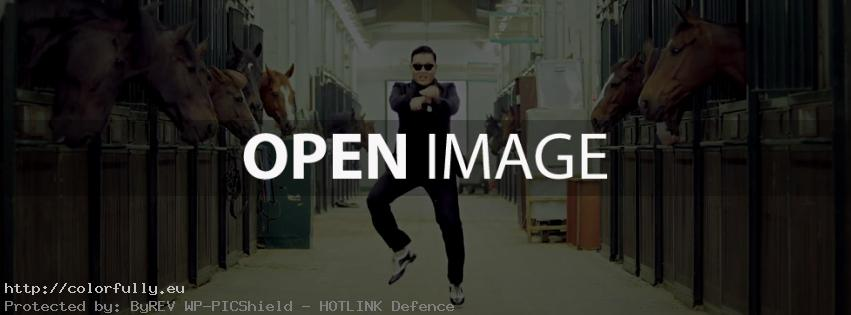 PSY Gangnam Style Dance – Facebook cover