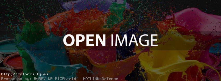 Color your life – Facebook cover