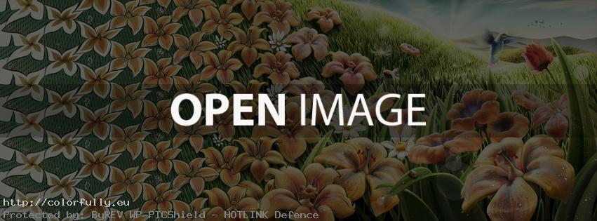 Fish & Flowers – Facebook cover