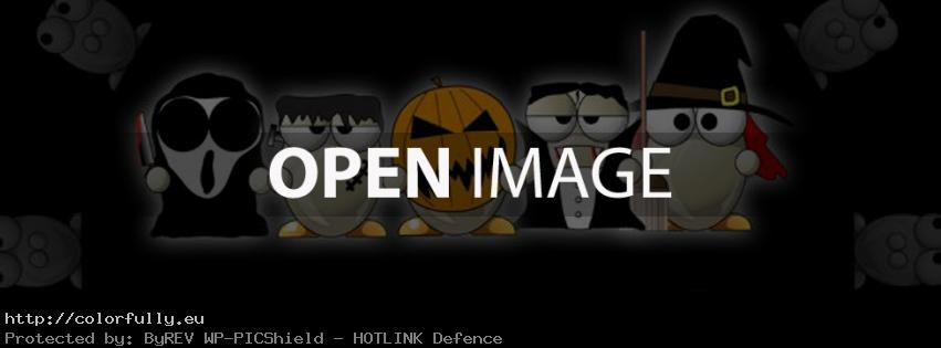 Funny Halloween Facebook cover