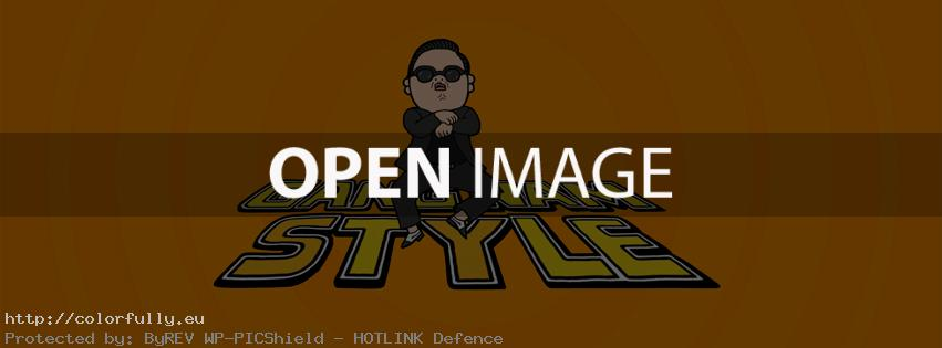 Gangnam style – Facebook cover