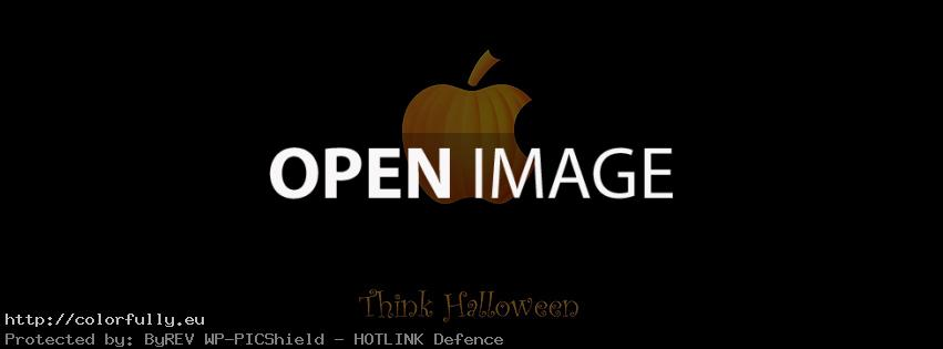 Think Halloween – Facebook cover