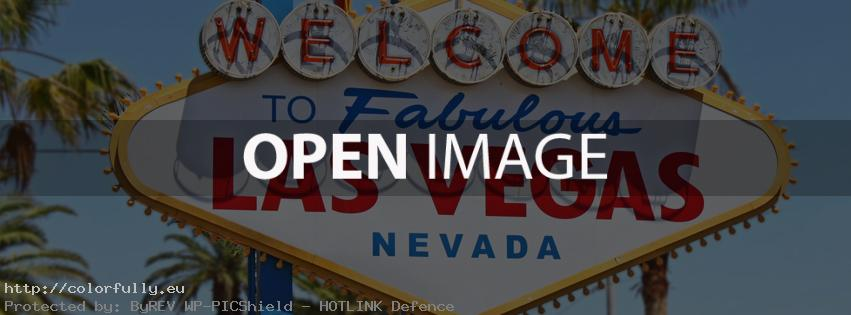 Welcome to Las Vegas – Facebook cover