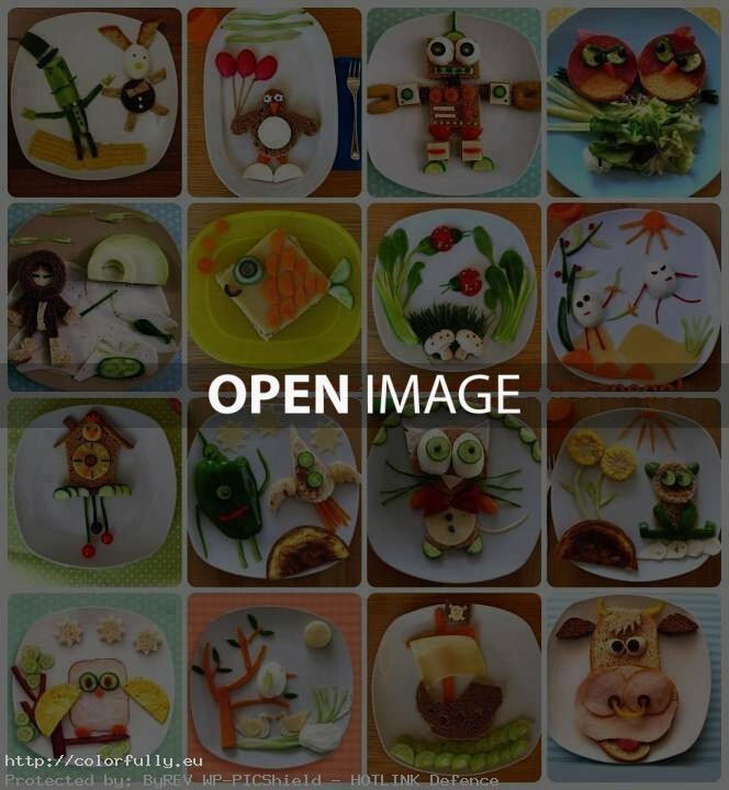 Fun Food Arrangements for kids – Photo collection part 1