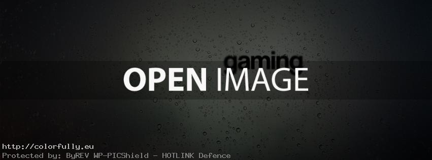Gaming – Facebook cover