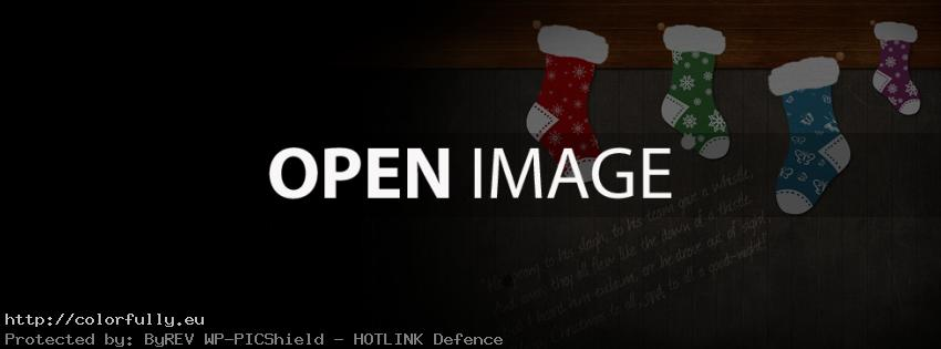 Merry Christmas quote – Facebook cover