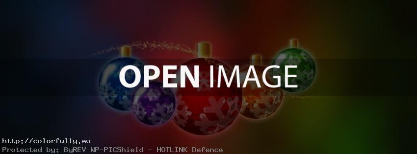 Merry Christmas toys – Facebook cover