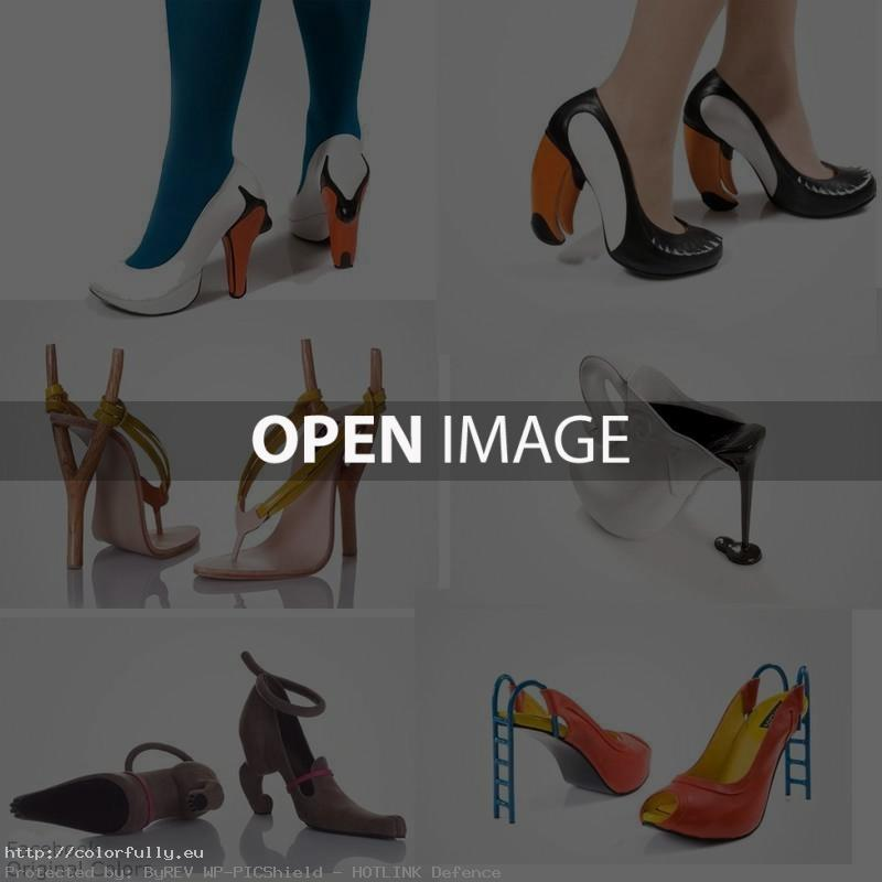 Funny hight heels shoes