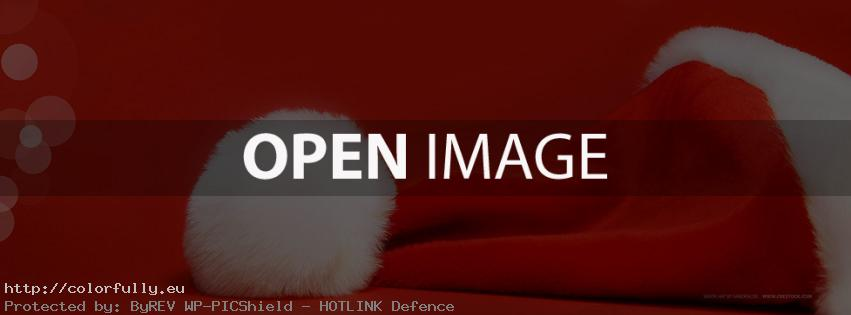 Santa's hat – Facebook cover