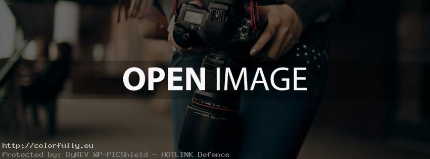 A girl with a camera photography – Facebook cover