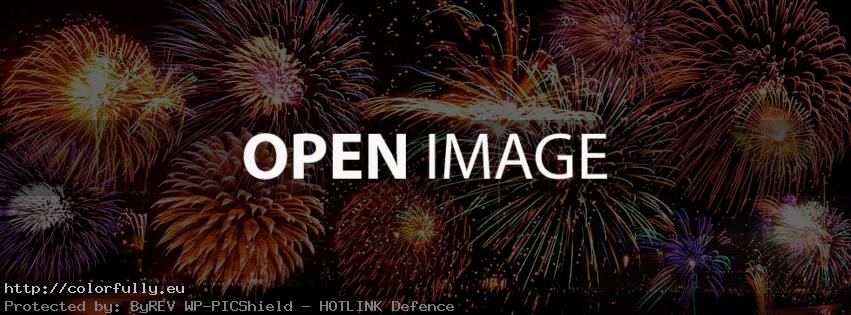 New Year Fireworks – Facebook cover