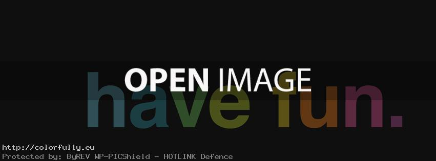 Have fun – Facebook cover