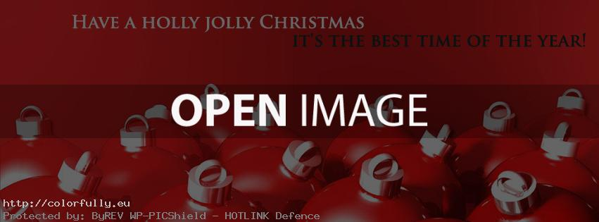Have a holly jolly Christmas –  it's the best time of the year!