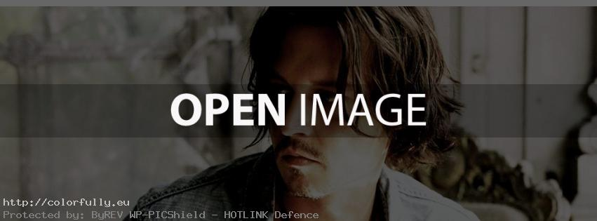 Johnny Depp watching me – Facebook cover
