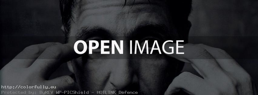 Al Pacino eyes – Facebook cover
