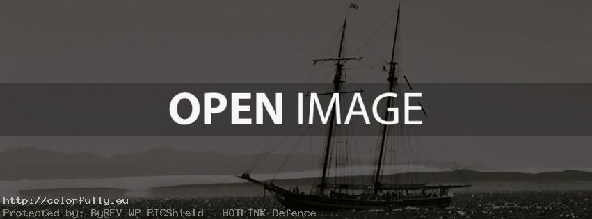 Ship in the sea – Facebook cover