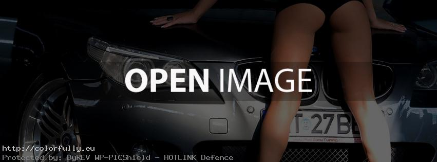 BMW girl – Facebook cover