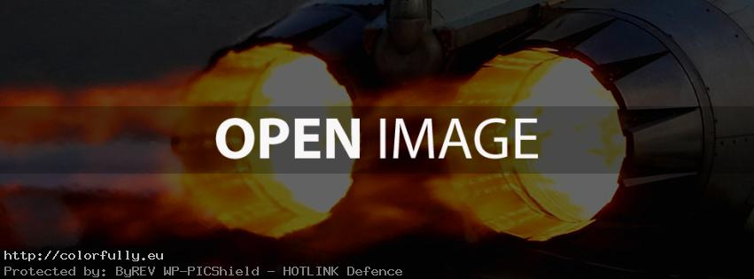 Jet fighter fire – Facebook cover!