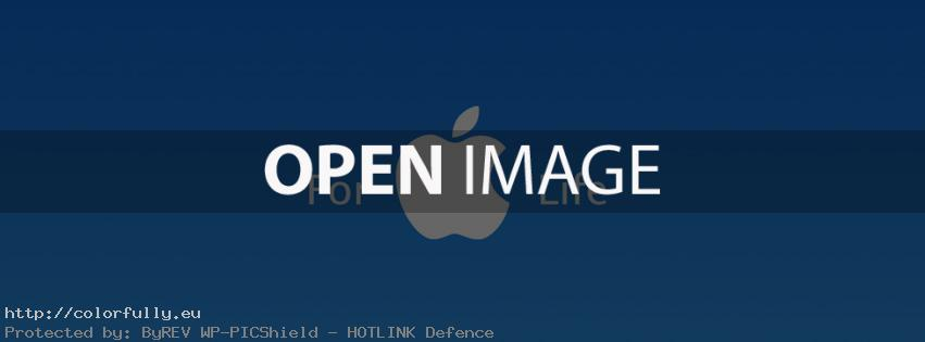 Apple for Life – Facebook cover