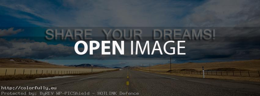 Share your dreams – Facebook cover