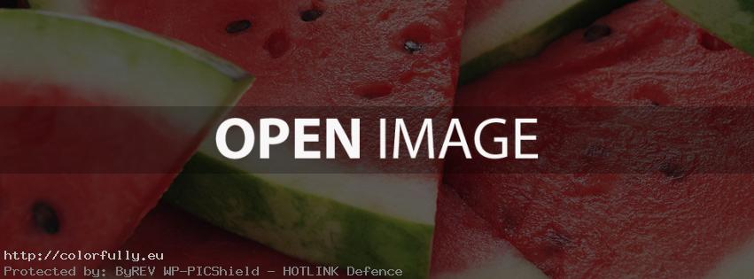 Juicy watermelon – Facebook cover