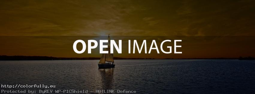 Yacht-At-Sunset-Facebook-cover