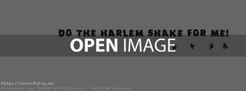 Do the Harlem Shake – Facebook cover